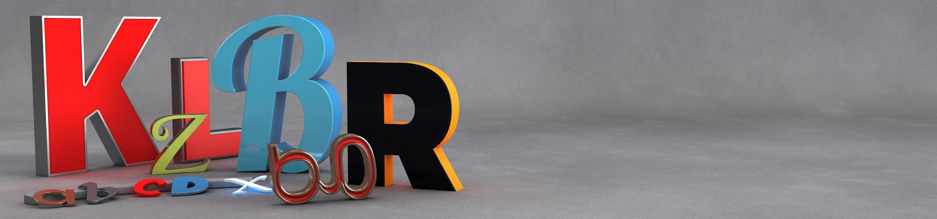 Konstrukta Leuchtbuchstaben