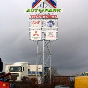 Werbeturm-Schildanlage-Autopark-Erfurt-Konstrukta-Werbetechnik