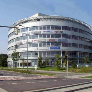Leuchttransparent Fassade Leipzig - Konstrukta Werbetechnik