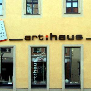 Profilbuchstaben Leuchtkasten tags - Arthaus - Konstrukta Werbetechnik