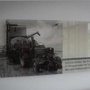 Schild Acrylglas Druck - Schlueterhallen - Konstrukta Werbetechnik